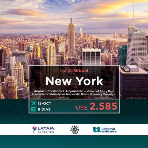 SALIDA GRUPAL NEW YORK